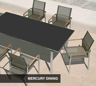 Barlow Tyrie Mercury Dining